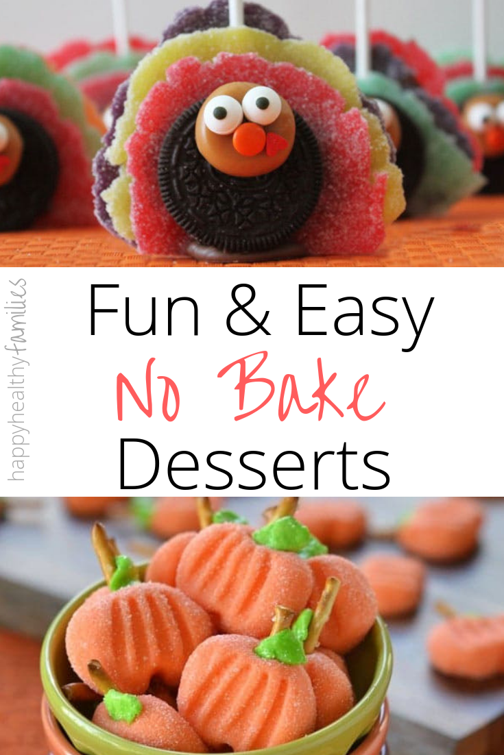 Cute Thanksgiving Dessert Recipes You Dont Have To Bake
