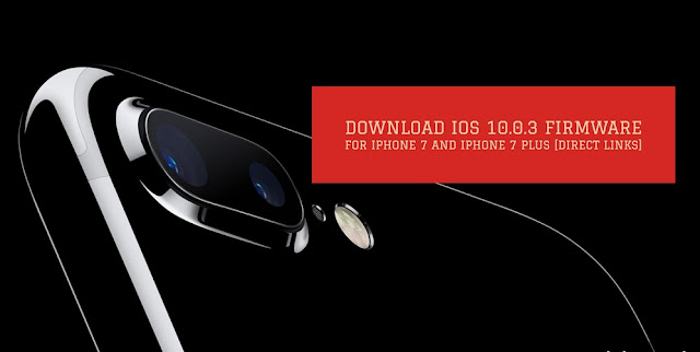 You can download iOS 10.0.3 firmware for iPhone 7 and iPhone 7 Plus from our download page if you want to install manually from iTunes.