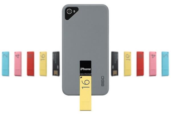 ego USB Case - Cool iPhone 4 Case