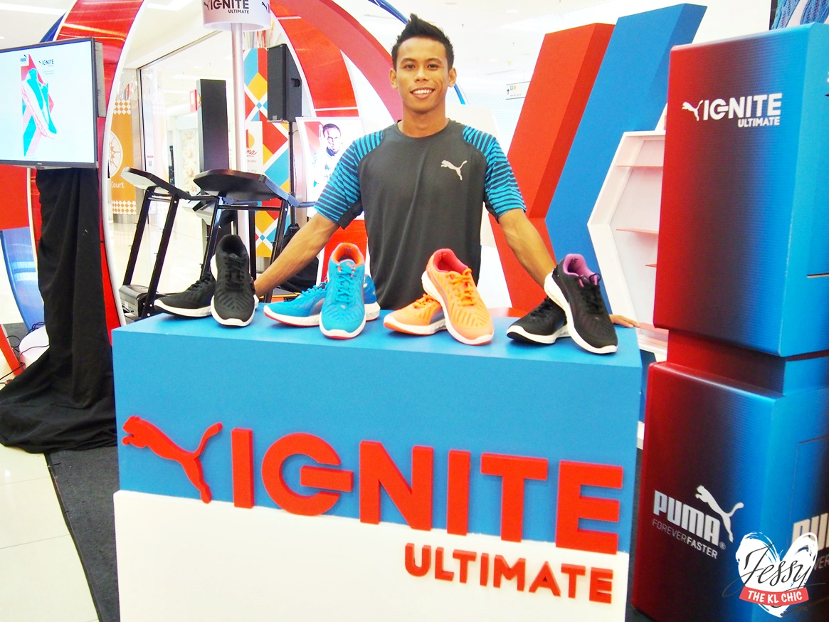 Local Sprinting Ace Badrul Hisyam Becomes Puma Ambassador + Launch Of IGNITE Ultimate