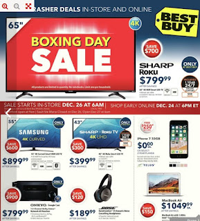 Best Buy Flyer Boxing Day Valid Mon Dec 25 – Thu Dec 28