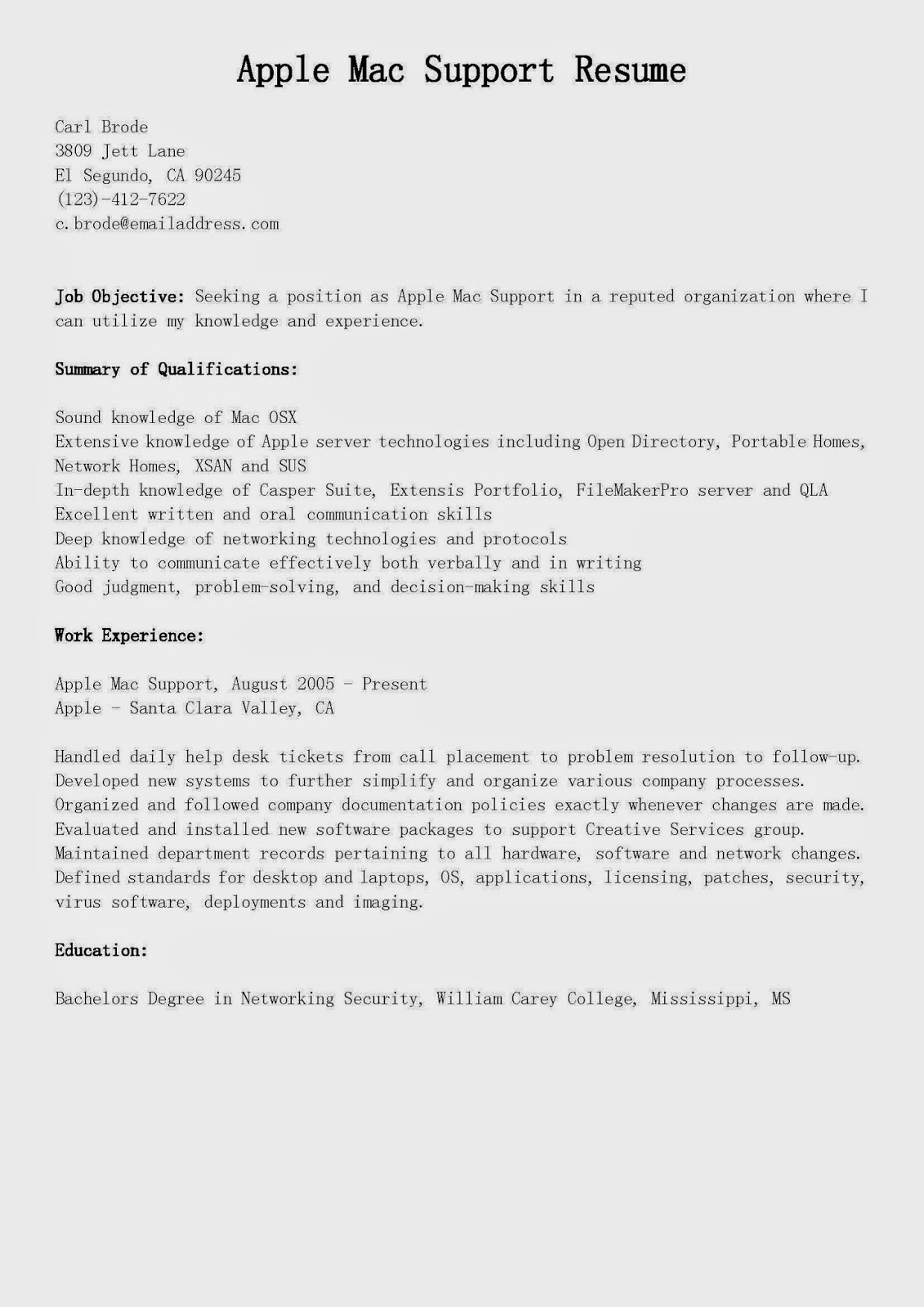 Professional Resume Template Apple Pages Metaphors From High