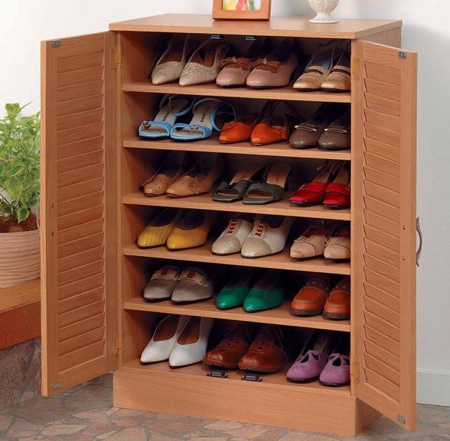 ตู้วางรองเท้าซ่อนกุญแจ