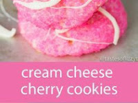 Cream Cheese Cherry Cookies