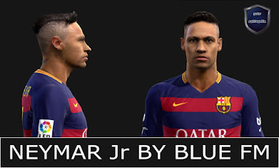 PES 2013 Neymar Jr Face by BLUE FM