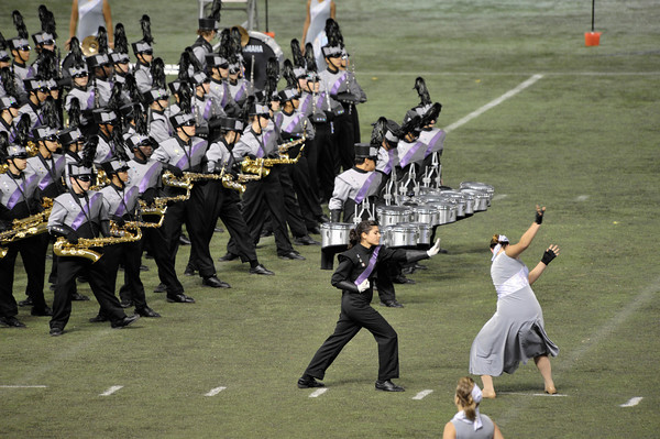 Performance Qualities in Marching Band Shows: Drill Design