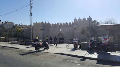 Tres heridos en un nuevo atentado en la Puerta de Damasco