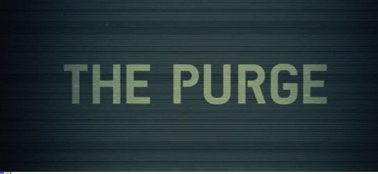 Advanced Portfolio - 9177: R23 - Analysis: 'The Purge' Opening