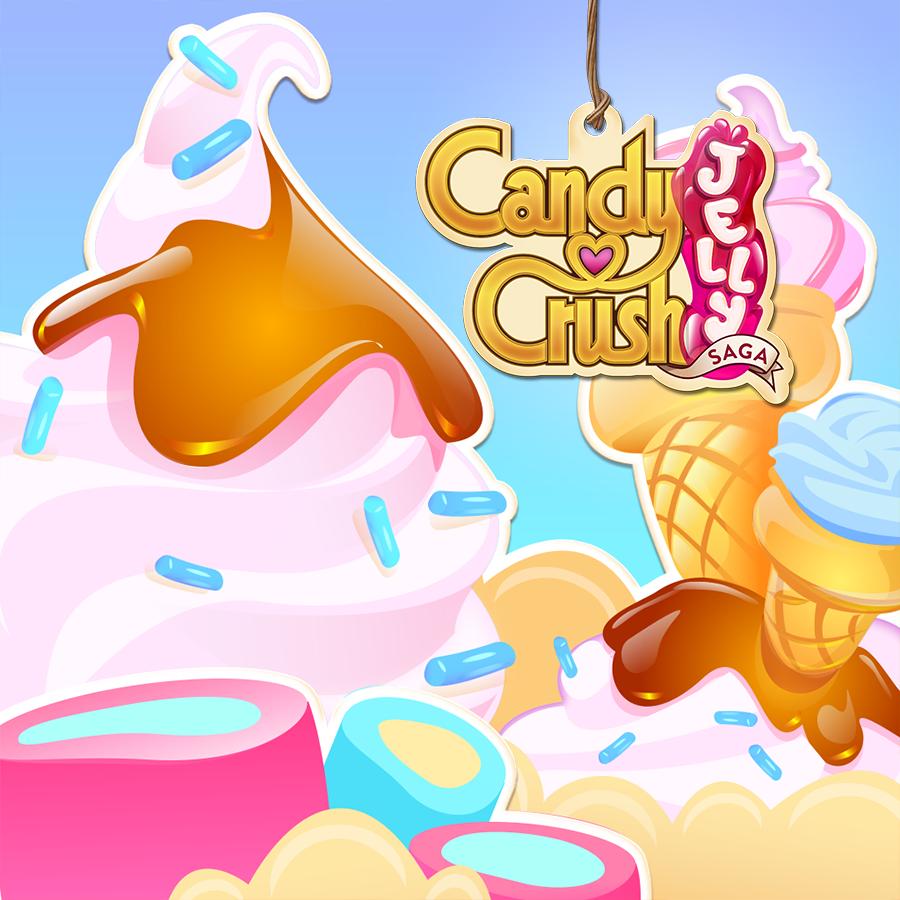 Candy Crush Jelly Saga Saga 241-260