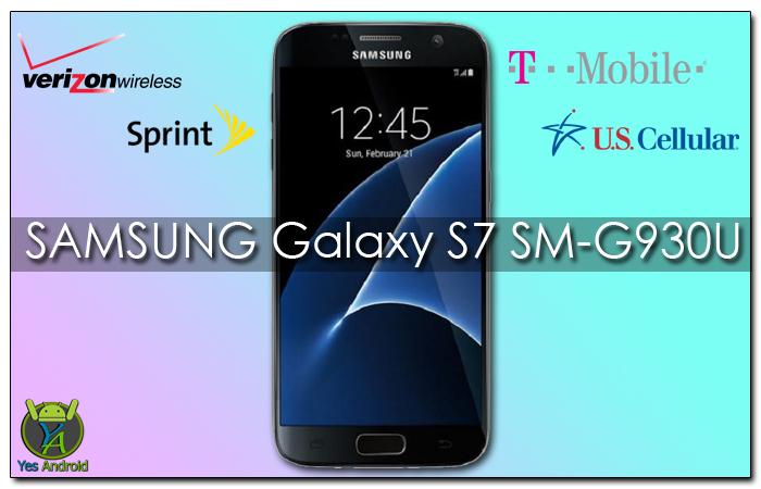 G930UUES4AQC1 | Galaxy S7 SM-G930U