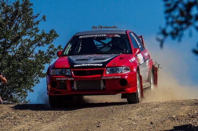 Επιτυχίες για Μποζιονέλο -  Παναρίτη στο Πανελλήνιο Κύπελλο Rally Sprint Καλαμάτας