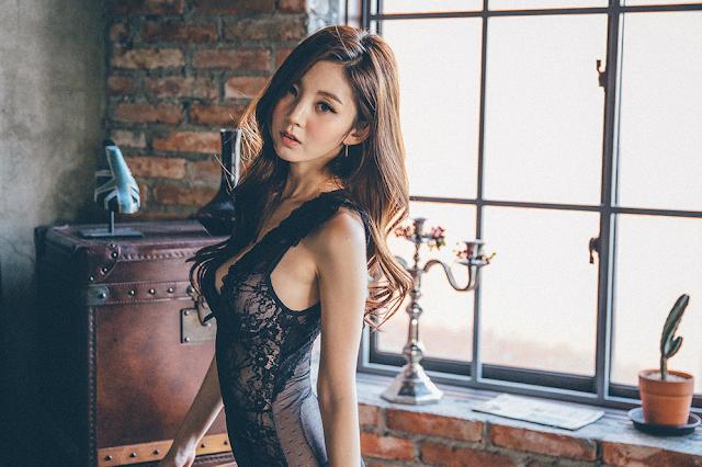 1 Chae Eun - Lingerie Collection - very cute asian girl-girlcute4u.blogspot.com