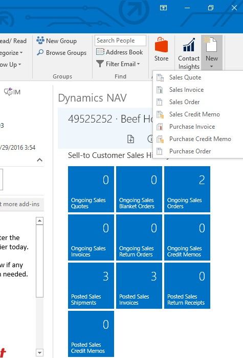 Microsoft Dynamics NAV 2017 - How Do I Enable Outlook Add ... Pictures In Dynamics Nav Email Message