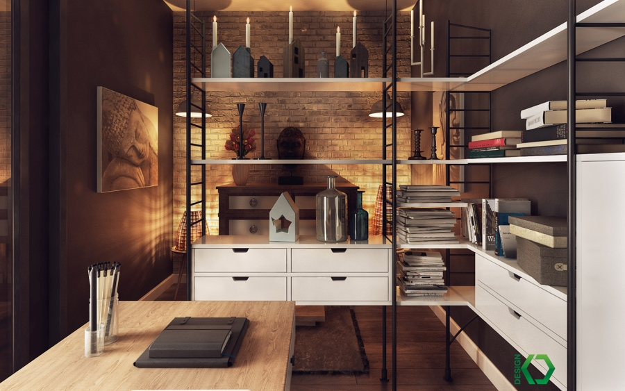 wystrój wnętrz, wnętrza, urządzanie mieszkania, dom, home decor, dekoracje, aranżacje, styl skandynawski, Scandinavian style, nordic style, styl industrialny, industrial style, pracownia