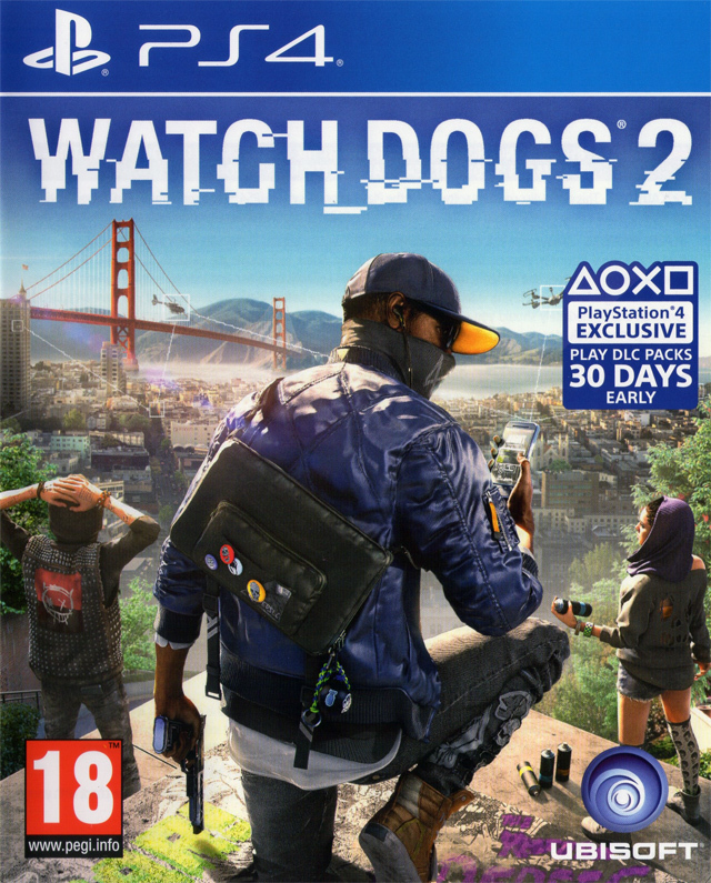 602971 front - Watch Dogs 2 (CUSA04294) PS4 4.05 PKG