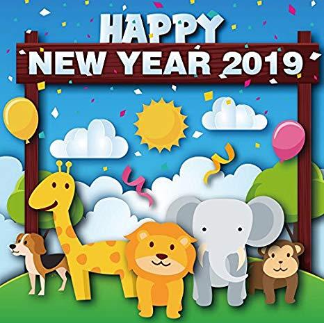 Chúc năm mới Kỷ Hợi 2019 làm cho hình ảnh chú heo thật đáng yêu nhé.