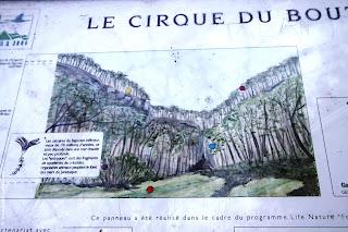 Cirque du Bout du Monde, Vauchignon, Bourgogne,