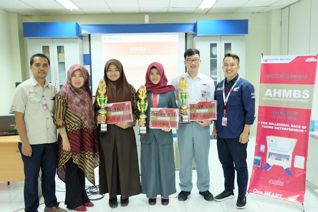 Astra Motor Sumsel kembali Gelar AHM Best Student 2018 Regional Sumatera Selatan
