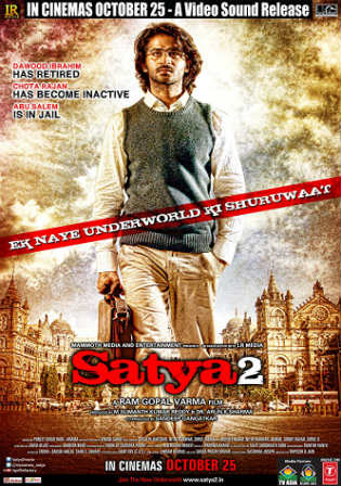 Satya 2 2013 DVDRip 950MB Full Hindi Movie Download 720p Watch Online Free bolly4u