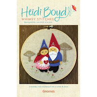 Gnomes Felt Applique Kit