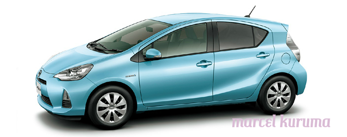 Marcel Japan Cars Reviews Toyota Aqua Color Body Option Japan