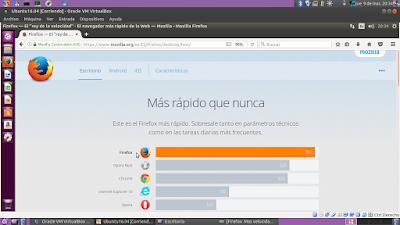 Firefox Más rápido que nunca