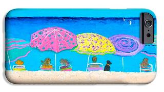 Beach sands, perfect tans, beach phone case
