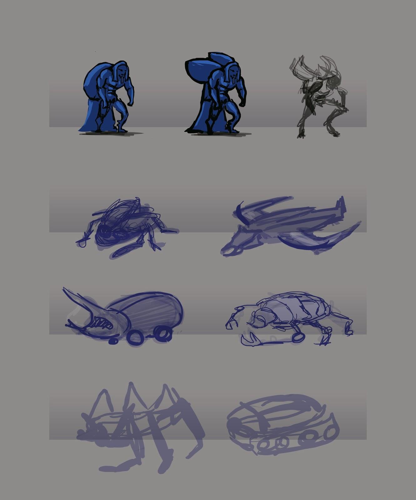 Blue Beetle Concept Art