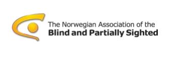 The Norwegian association of blind logo