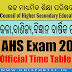 "CHSE: Plus 2 ""Annual Exam 2019"" Time Table PDF Download (Sc., Com., Arts, Voc., Distance, Practical)"