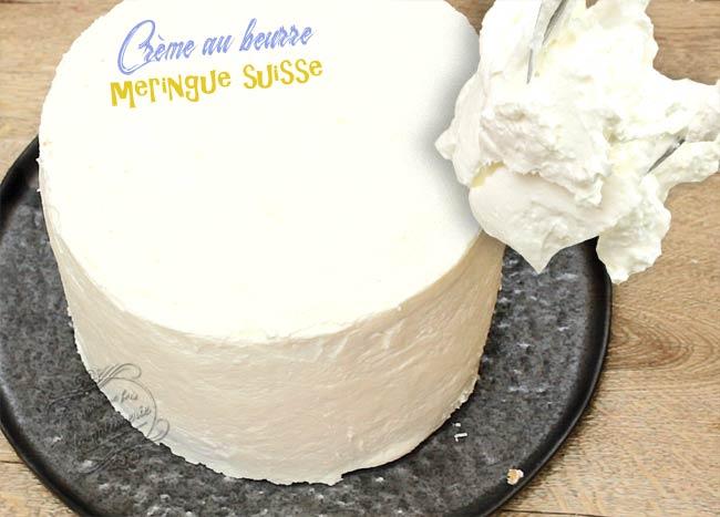 creme beurre meringue suisse
