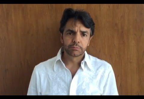 México necesita un presidente que le devuelva la dignidad: Eugenio Derbez