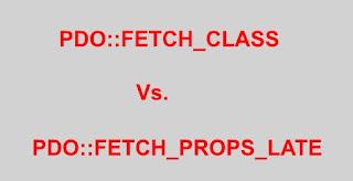 PDO PHP Fetch Class