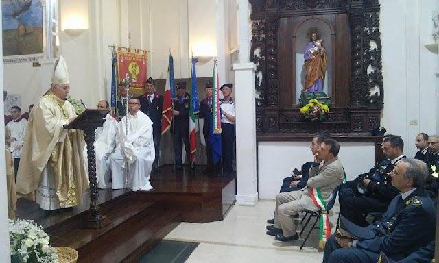 Lamezia Terme, Vescovo ha presieduto S. Messa con le Forze dell'Ordine a S.Antonio