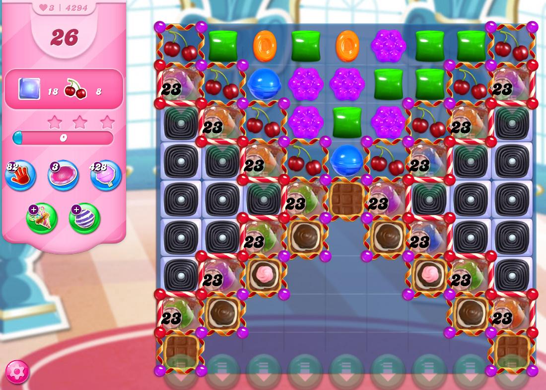 Candy Crush Saga level 4294