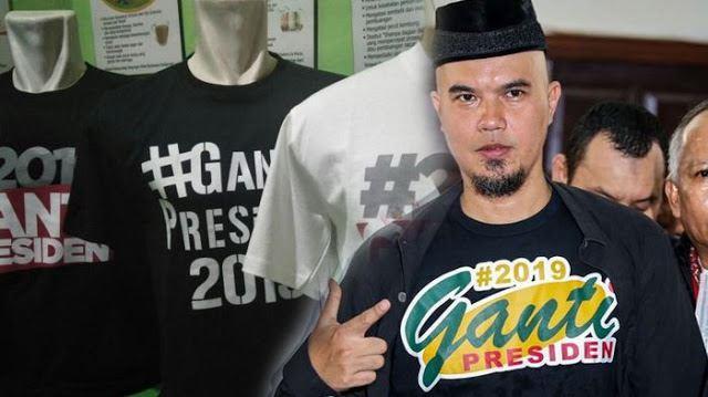 Ahmad Dhani Tak Akan Lagi Pakai Kaus #2019GantiPresiden, Ini Sebabnya