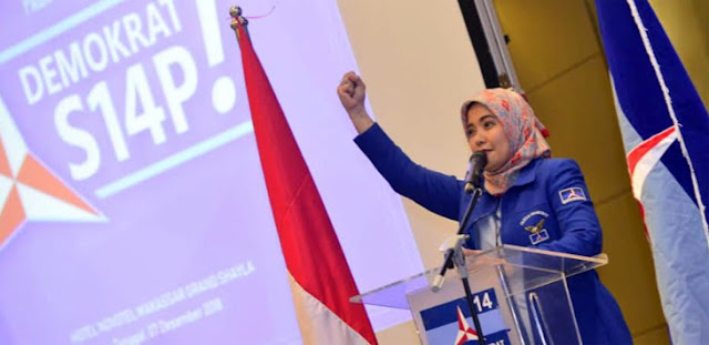 Aliyah Ilham Tagih Komitmen Danny Pomanto Menangkan Demokrat