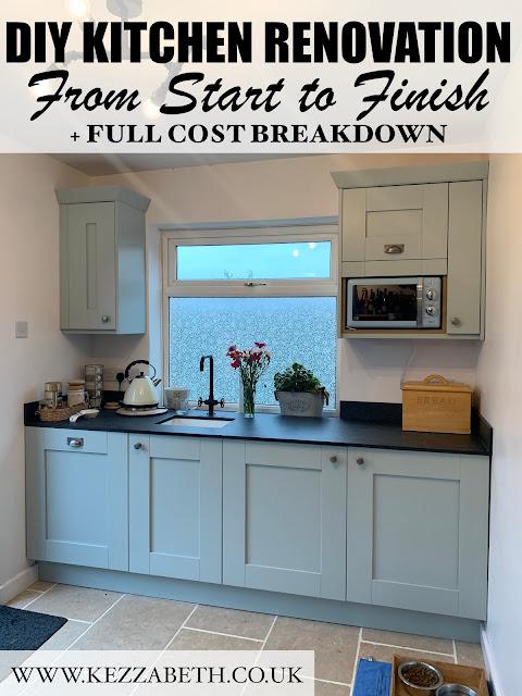 DIY kitchen renovation costs