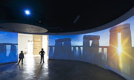 Inside the Visitor Centre at Stonehenge