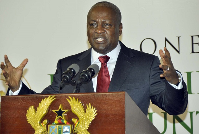 Mahama: NPP caused 41% of our debt