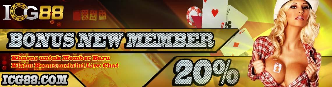 Bonus New Member 20%-1