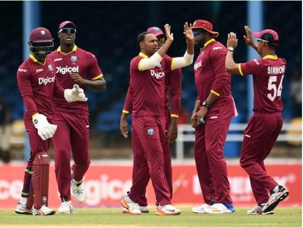West Indies Team Historic Rage in India