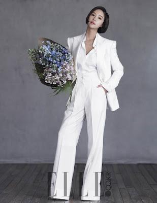 Hwang Jung Eum - Elle Magazine March 2016