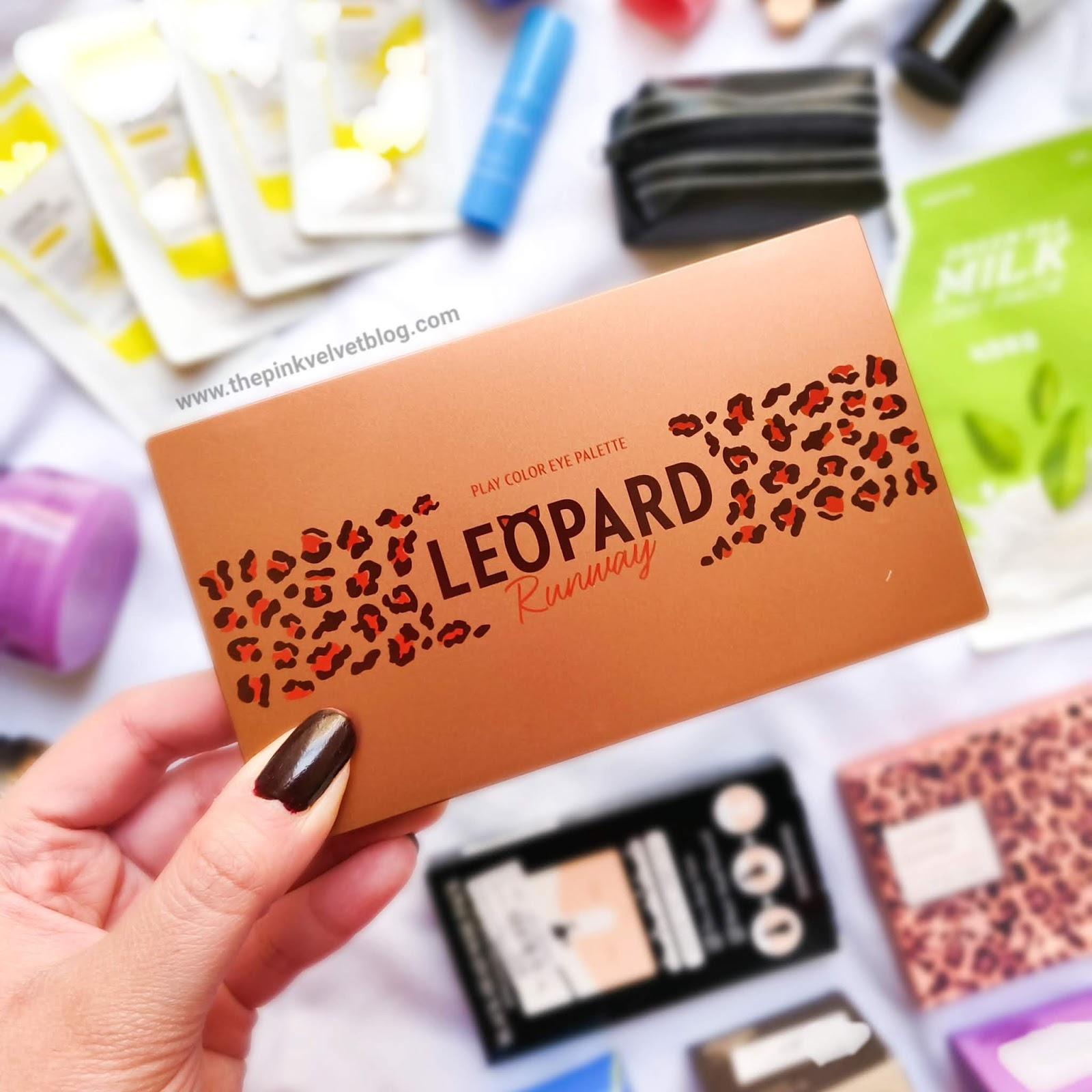 YesStyle Shopping Haul and Experience | YesStyle Shopping Haul and Experience | Korean Beauty Cosmetics from YesStyle - Etude House Leopard