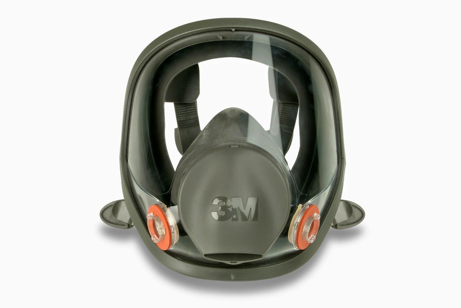 Más información : Máscara completa silicona 3M