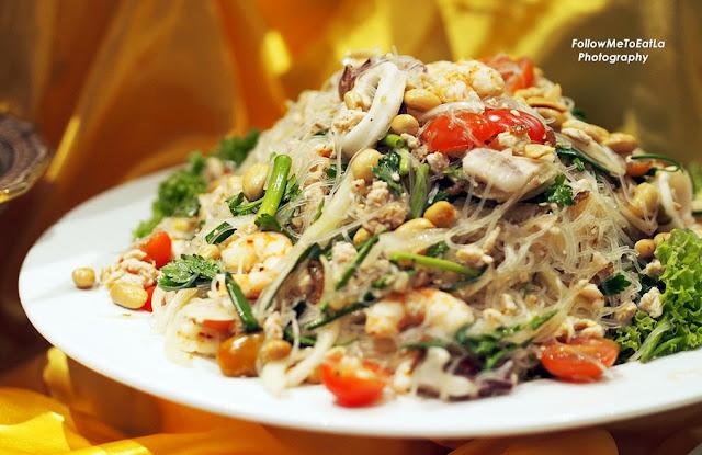 Glass Noodles Seafood Salad