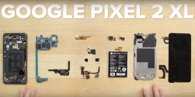 Pixel 2 XL Gets the Teardown Treatment, Receives Decent Repairability Score