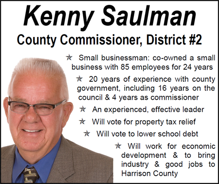 Kenny Saulman for Commissioner, District #2