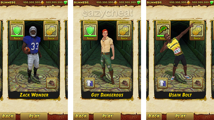 Temple Run 2 Cheats