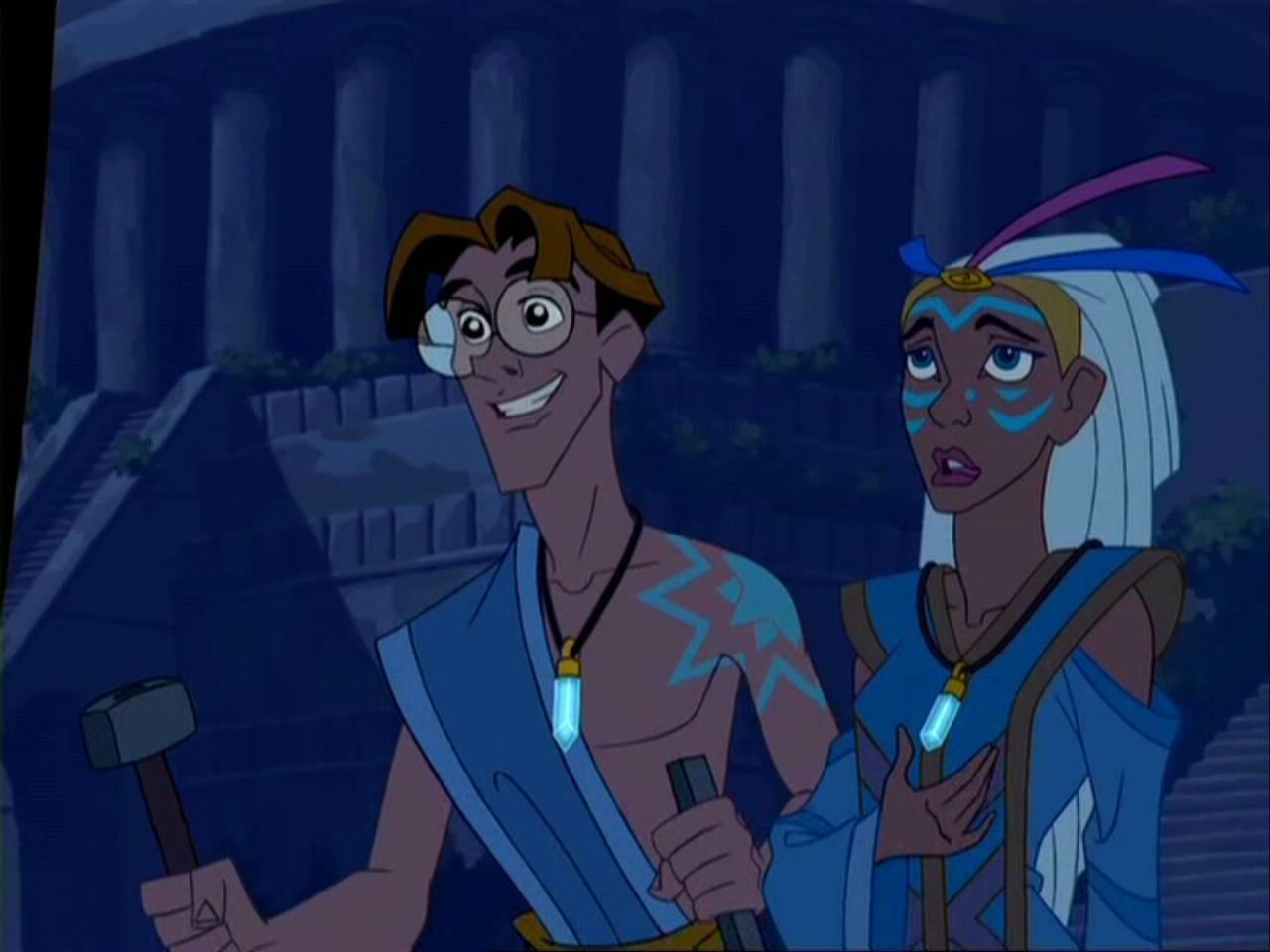 An analysis of the movie aegean the legend of atlantis